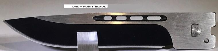 Cutting Edge Heretic Black D/A OTF Automatic Knife - Two Tone Serrated