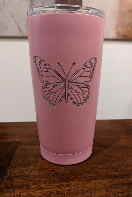 Butterfly 20 oz Tumbler