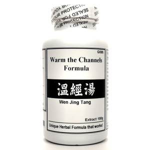 Warm the Channels Formula Extract Powder Instant Herbal Tea 180g (Wen Jing Tang)