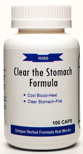 Clear the Stomach Formula 500mg 100 capsules (Qing Wei San)