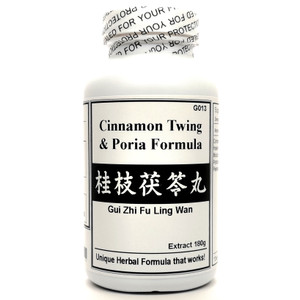 Cinnamon Twing and Poria Formula Extract Powder Instant Herbal Tea 180g (Gui Zhi Fu Ling Wan)