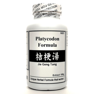 Platycodon Formula Extract Powder Instant Herbal Tea 180g (Jie Geng Tang)
