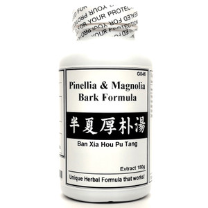 Pinellia & Magnolia Bark Formula Extract Powder Instant Herbal Tea 180g (Ban Xia Hou Pu Tang)