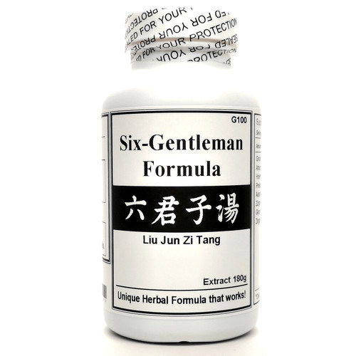 Six-Gentleman Formula Extract Powder Instant Herbal Tea 180g (Liu Jun Zi Tang)