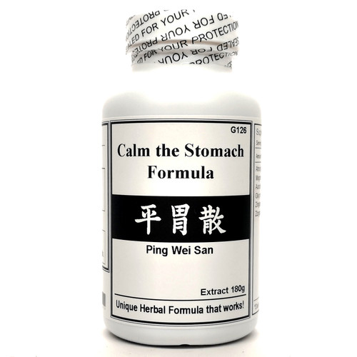 Calm the Stomach Formula Extract Powder Instant Herbal Tea 180g (Ping Wei San)