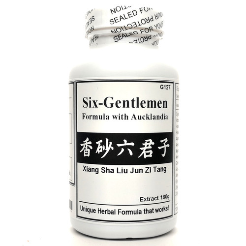 Six-Gentlemen Formula with Aucklandia Extract Powder Instant Herbal Tea 180g (Xiang Sha Liu Jun Zi Tang)