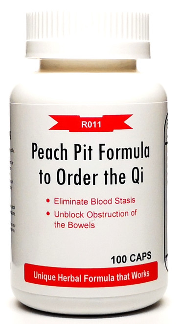 Peach Pit Formula to Order the Qi 500mg 100 capsules (Tao He Cheng Qi Tang)