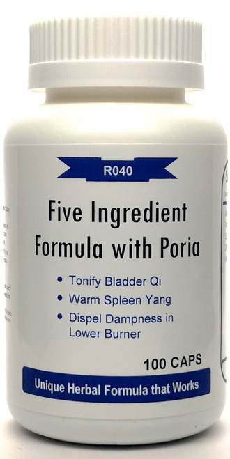 Five Ingredient Formula with Poria 500mg 100 capsules (Wu Ling San)