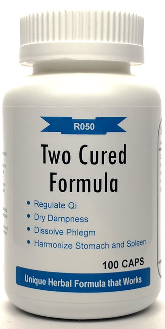 Two Cured Formula 500mg 100 capsules (Er Chen Tang)