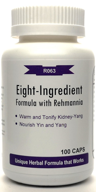 Eight-Ingredient Formula with Rehmannia 500mg 100 capsules (Bai Du Won)