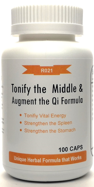 Tonify the Middle and Augment the Qi Formula 500mg 100 capsules (Bu Zhong Yi Qi Tang)