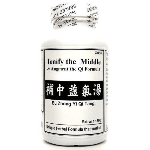 Tonify the Middle and Augment the Qi Formula Extract Powder Instant Herbal Tea 180g (Bu Zhong Yi Qi Tang)