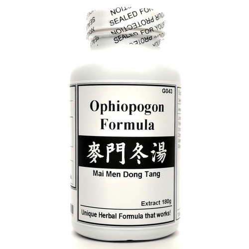 Ophiopogon Formula Extract Powder Instant Herbal Tea 180g (Mai Men Dong Tang)