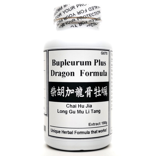 Bupleurum Plus Dragon Formula Extract Powder Instant Herbal Tea 180g (Chai Hu Jia Long Gu Mu Li Tang)