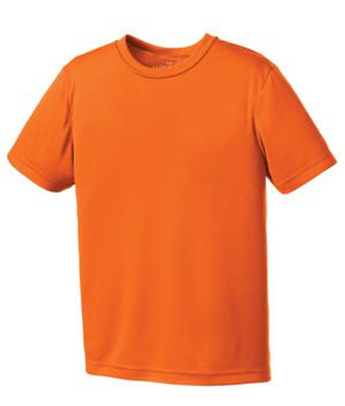 North Point Orange Dry-Fit Tee - Youth