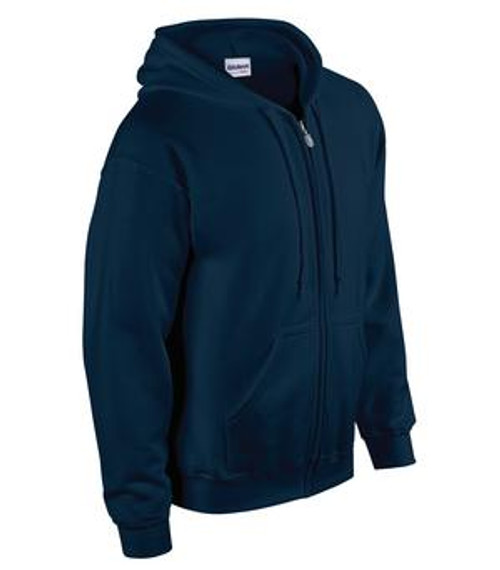 North Point Navy Full Zip Hoodie - Adult