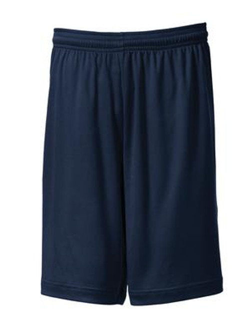 North Point Navy Gym Short - Adult