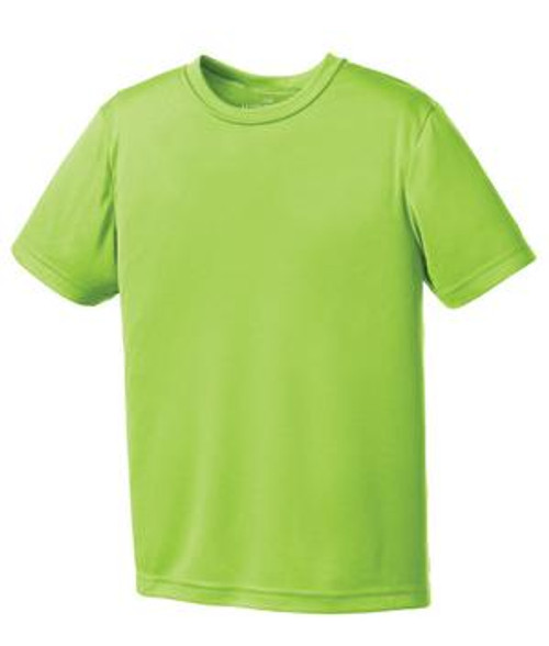 North Point Lime Shock Tee - Adult
