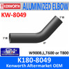 "K180-8049 Kenworth 5"" Exhaust 47 Degree Elbow OD/OD"