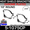 "10"" 270 Guard Chrome Plated 2 Bracket Kit"