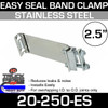"2.5"" Easy Seal Stainless Steel Band Clamp TEC250"