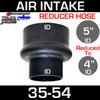"5"" to 4"" Rubber Reducer Hose Air-Intake Exhaust 