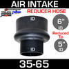 """6"""" to 5"""" Rubber Reducer Hose Air-Intake Exhaust   RH650"""
