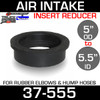 """5.5"""" ID to 5"""" Rubber Reducer Insert Sleeve OD 