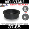 """6"""" ID to 5"""" Rubber Reducer Insert Sleeve OD 