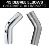 45 EXHAUST ELBOWS