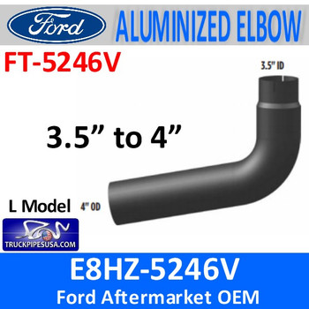 E8HZ-5246V Ford Exhaust Pipe Model L-L10 or 8.3 Cummins FT-5246V