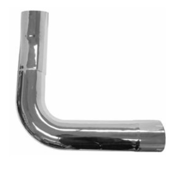 K180-10742CP Kenworth Chrome Left Side Elbow for W900A
