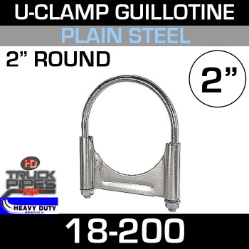 "2"" U-Clamp Guillotine Style 18-200"