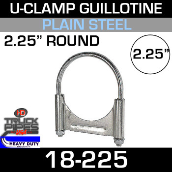 "2.25"" U-Clamp Guillotine Style 18-225"
