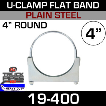 "4"" U-Clamp Flat Band 19-400"