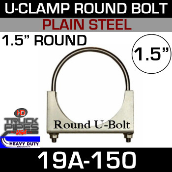 "1.5"" U-Clamp Round Band 19A-150"