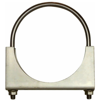"3"" U-Clamp Double Saddle Round Zinc Plated UA300"