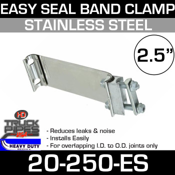 "2.5"" Band Clamp Easy Seal"