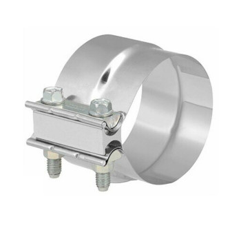 "5"" Preformed Stainless Steel Lap-Joint Clamp TTS500"
