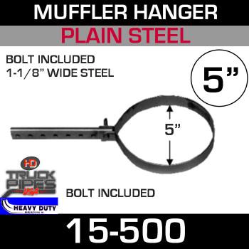 "5"" Round Pipe or Muffler Hanger 15-500"