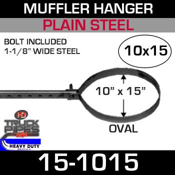 """10"""" x 15"""" Standard Oval Muffler Hanger 15-1015"""