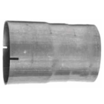 "5"" Exhaust Connector ID-OD Aluminized 5"" Long"