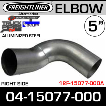 Freightliner FLD Right Side 90 Degree Elbow ALZ 04-15077-000