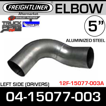 Freightliner FLD Left Side 90 Degree Elbow ALZ 04-15077-003