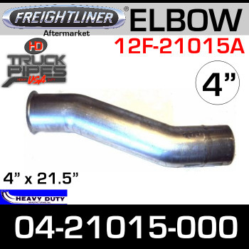Freightliner Aftermarket ALZ Exhaust Elbow 04-21015-000