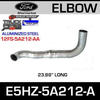 "Ford Replacement Exhaust Pipe 23.98"" E5HZ-5A212-A"