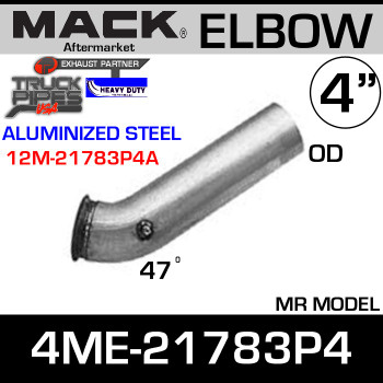 4ME-21783P4 Mack MR Model Exhaust Elbow ALZ 12M-21783P4A