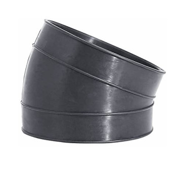 "4"" ID Rubber Air-Intake Exhaust Elbow 22 Degree"