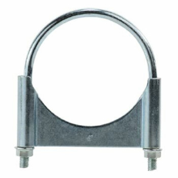 "2.5"" Guillotine Round U-Bolt Exhaust Clamp Stainless Steel"