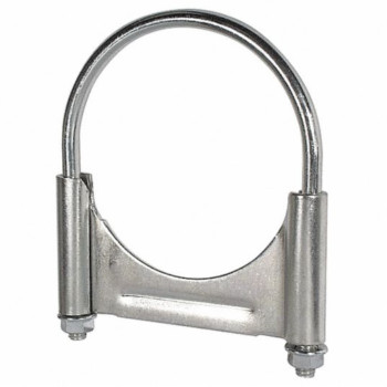 "5"" Guillotine Clamp with Flat U Bolt 3/8"" Thick Steel"